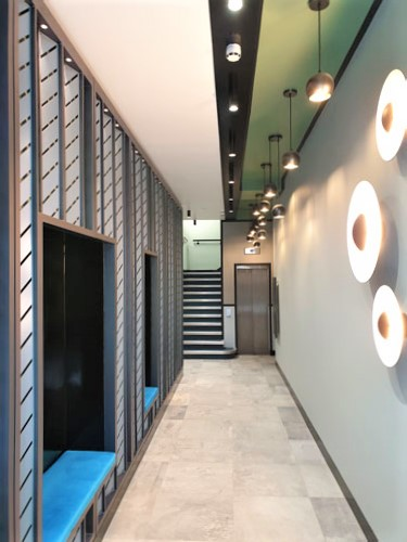 Carnaby Street Office entrance completed
