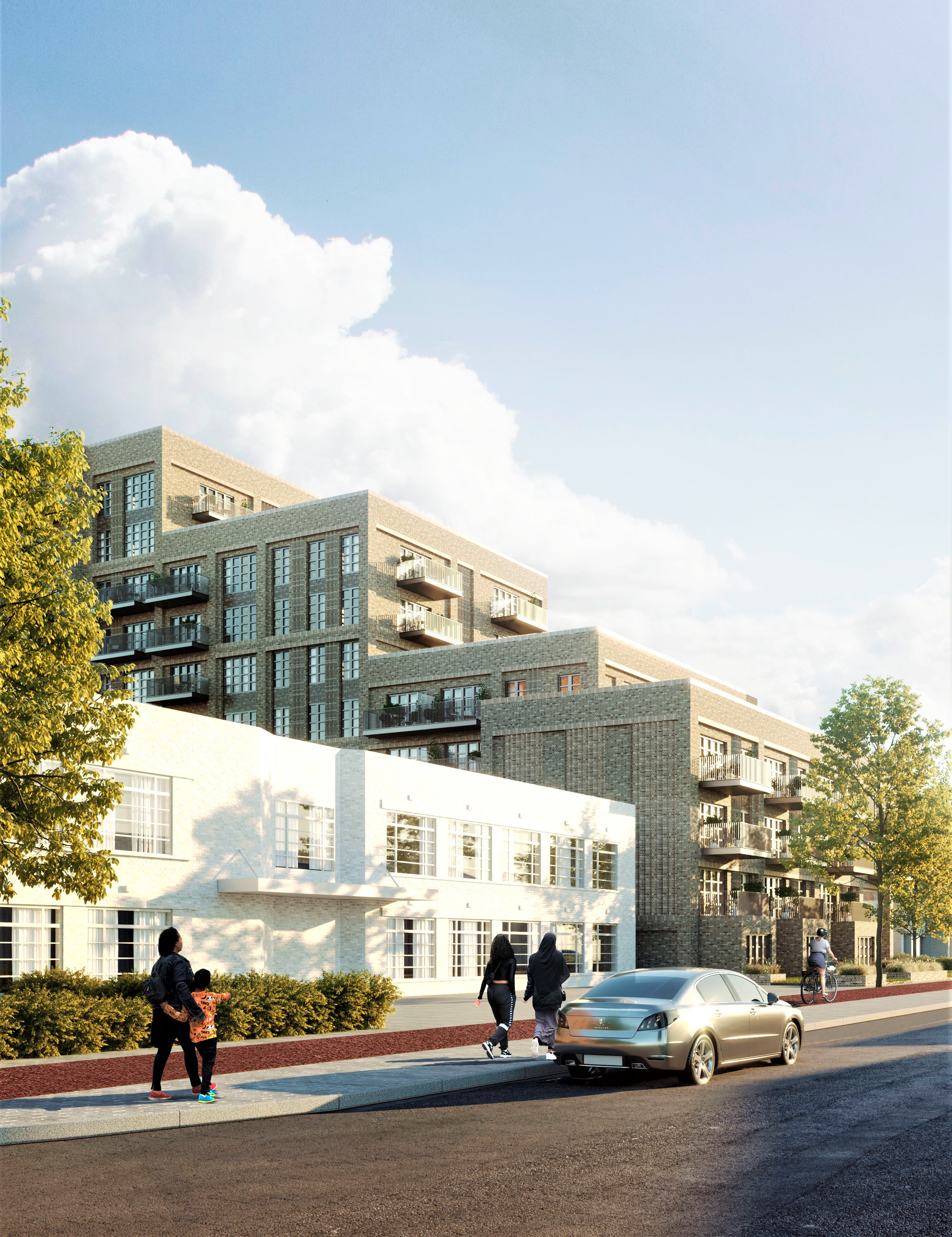 Hayes PRS scheme submitted for Planning