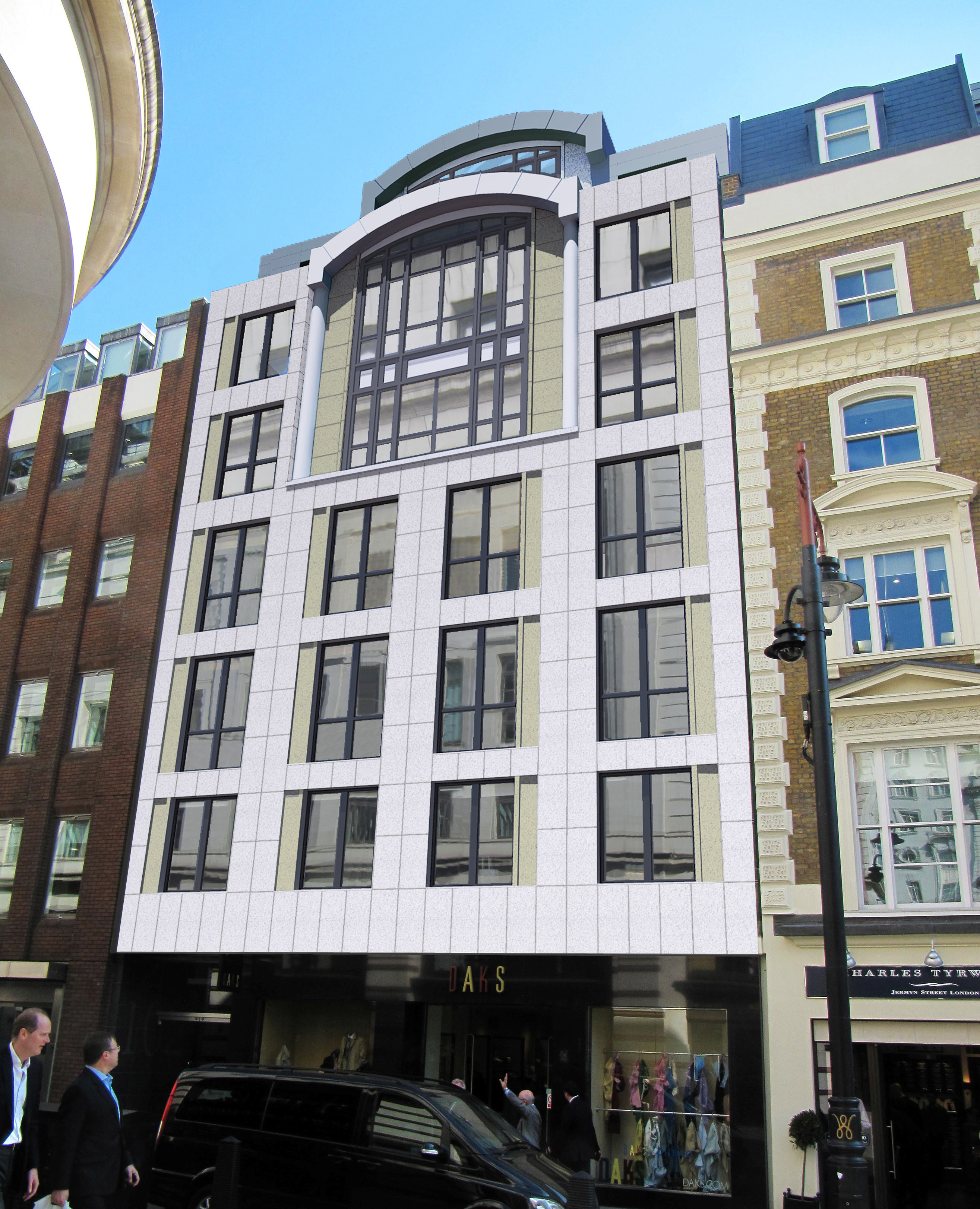 Planning Permission received for Jermyn Street development