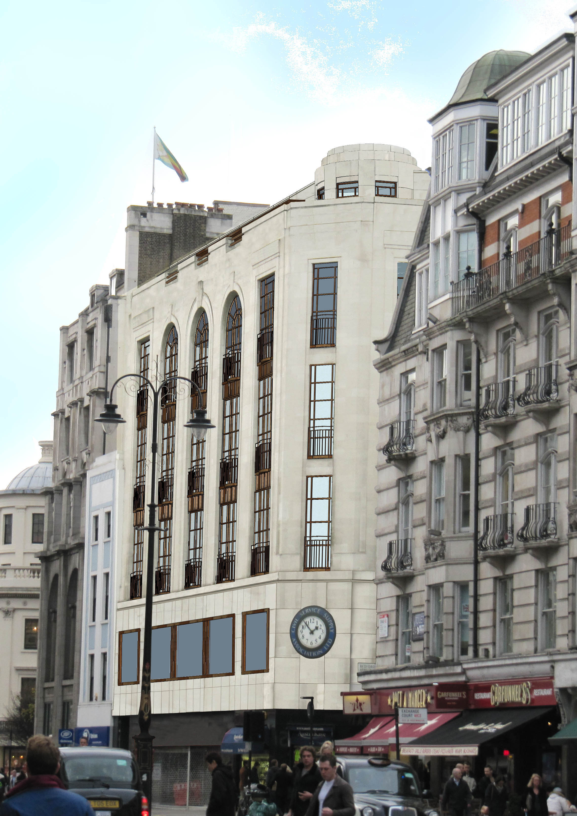 Planning Approval granted for No.1 Bedford Street facing onto the Strand