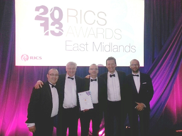 University of Leicester Sports Centre wins RICS Award