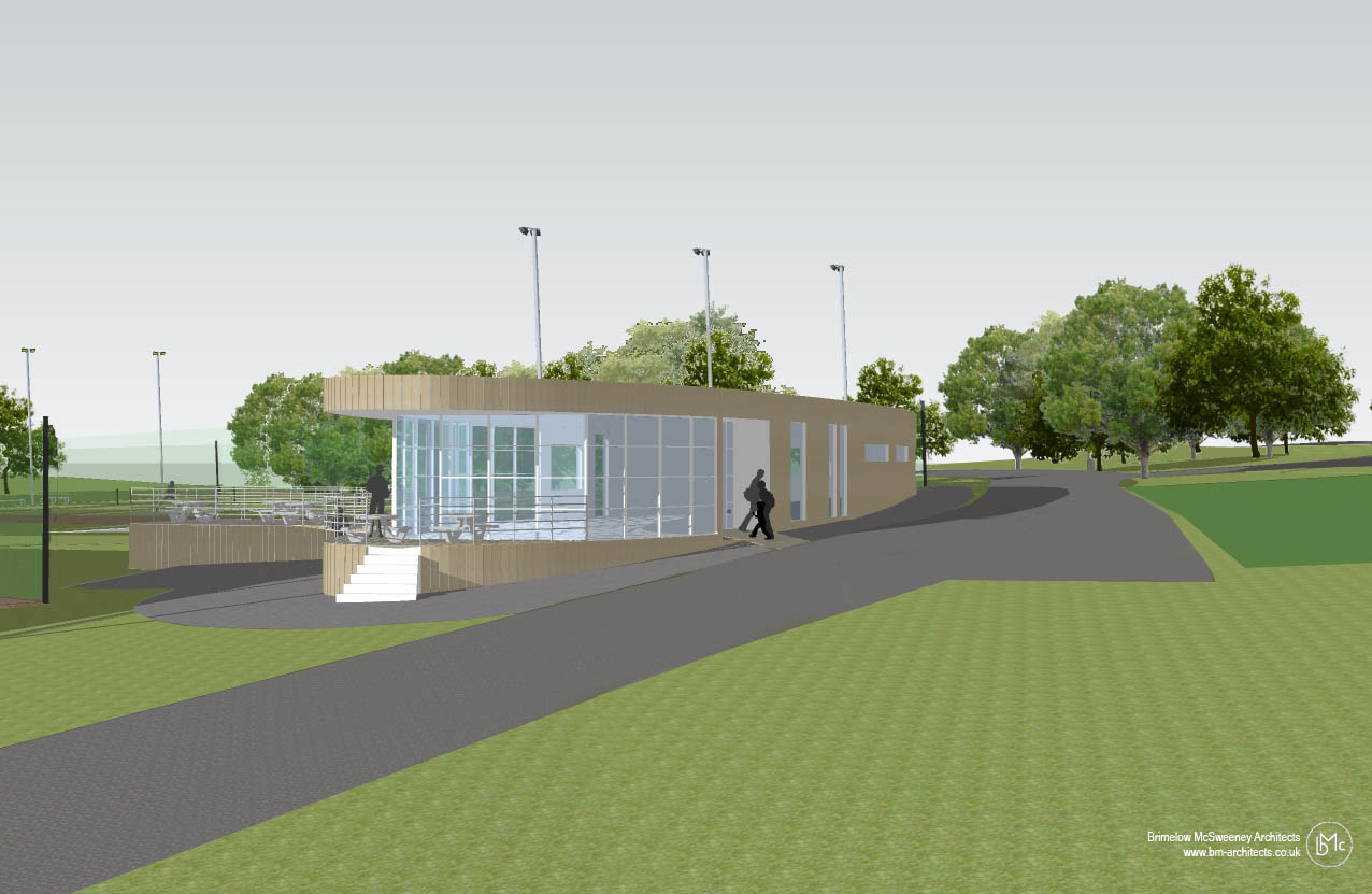 Competition win for King George's Park tennis pavillion