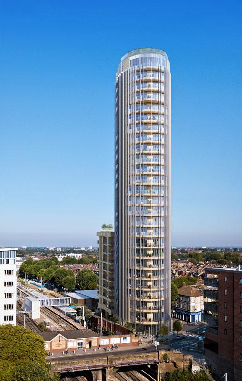 West 55 Tower, West Ealing